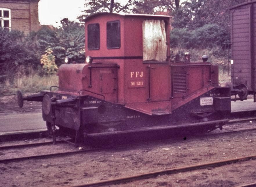 FFJ M 1211 rangerer i Fjerritslev
