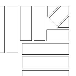 Tegning af et rulleskifte ved et hjørne.