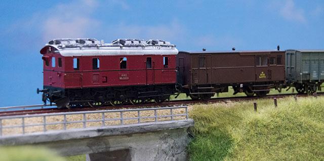 AHJ Ml 5203 med tog til Sæby