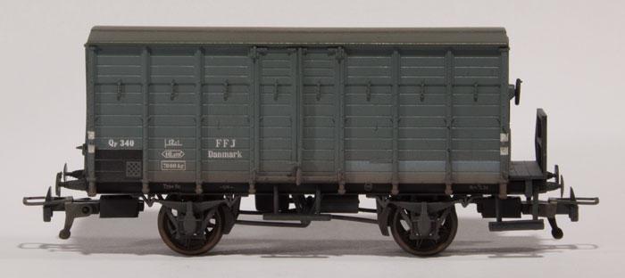 FFJ Qf 340 med RP-25 stjernehjul fra Steam Era Models