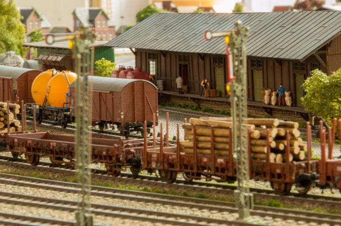 Pakhus ved Holstedt station