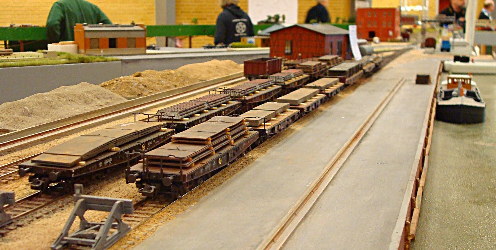 Sværgodsvogne med stål
