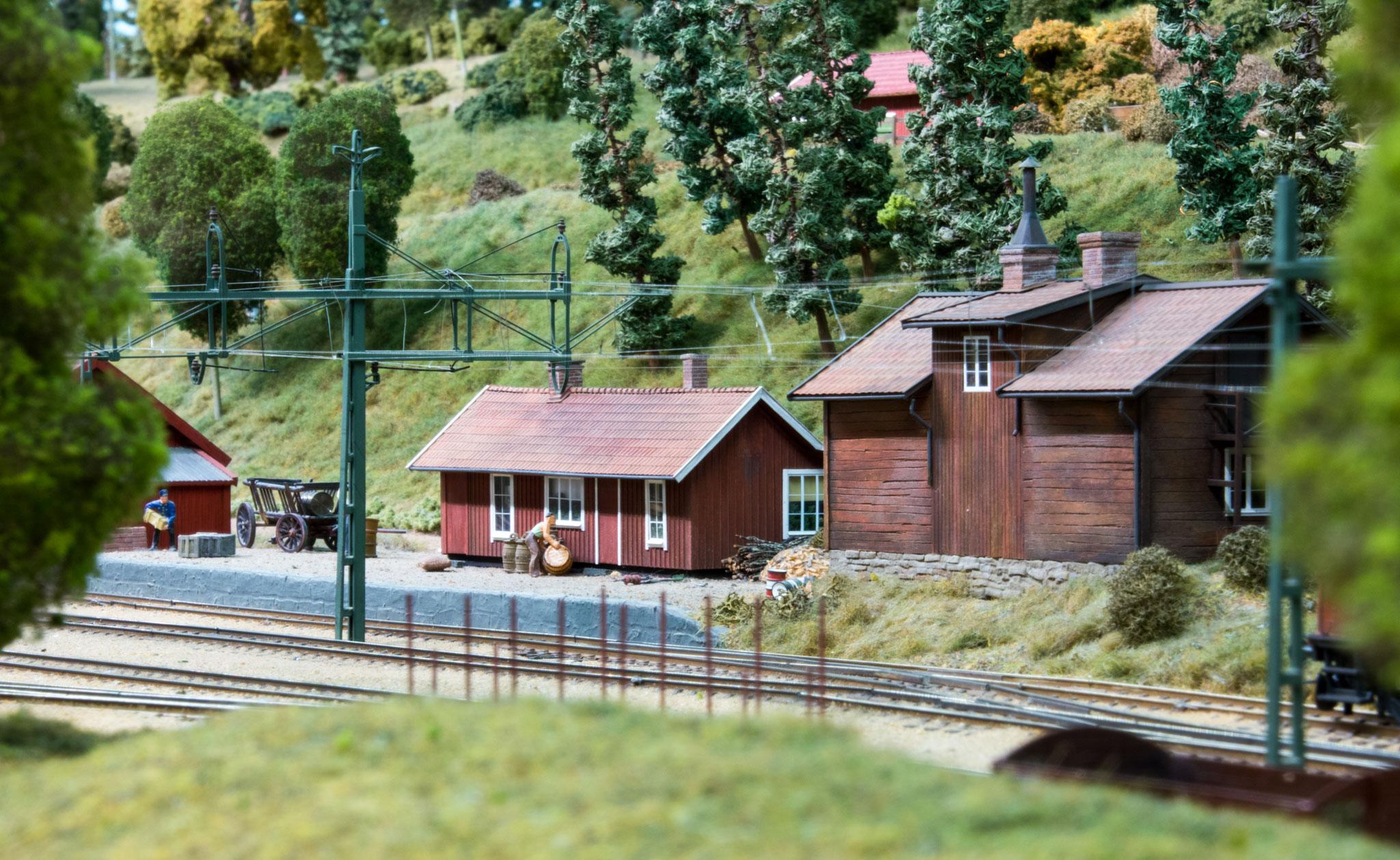 Stationsmiljø i Möltorp