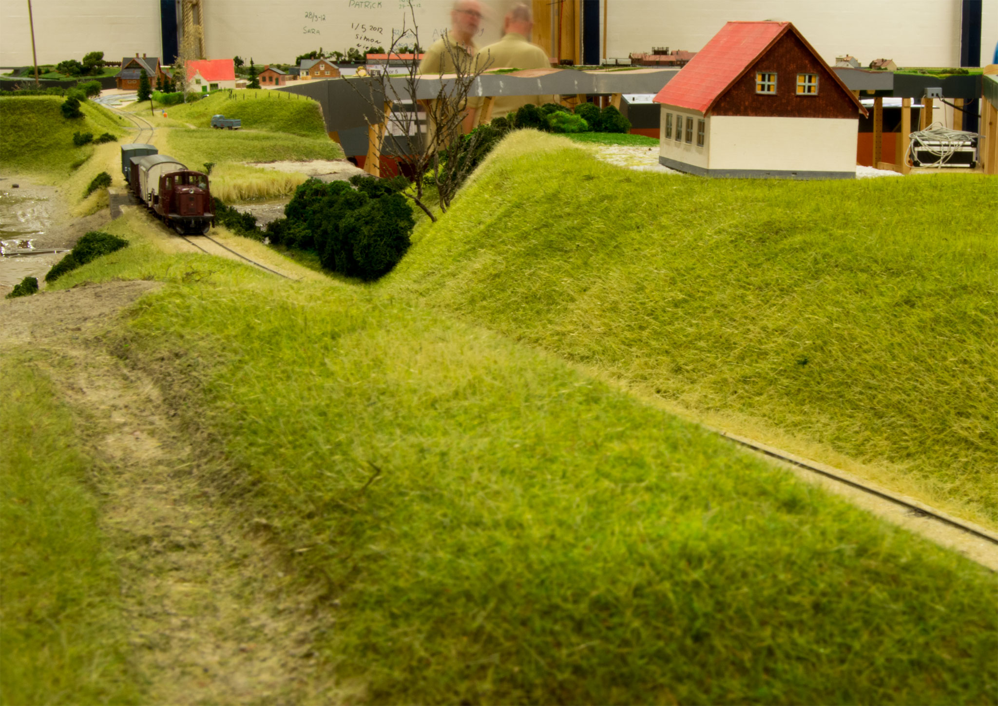 Privatbanens lokale godstog på Henrik Poulsens bromodul