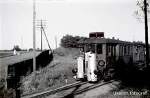 Triangel motortog ved Knæverhede syd for Sæby